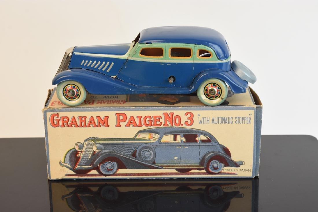 CK Graham Paige Tinplate Wind-up Toy; OB