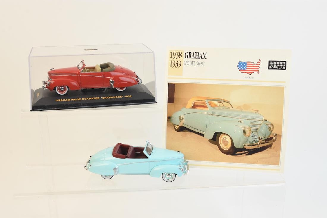(2) IXO Graham Roadster Sharknose Die Cast Cars