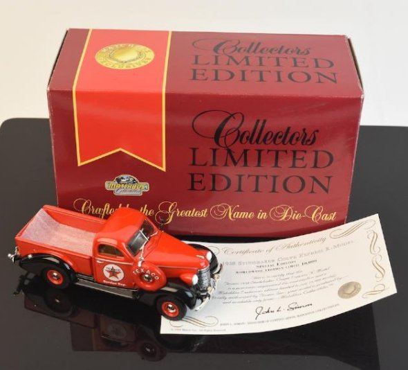 Matchbox Die Cast Texaco 1938 Studebaker; LE