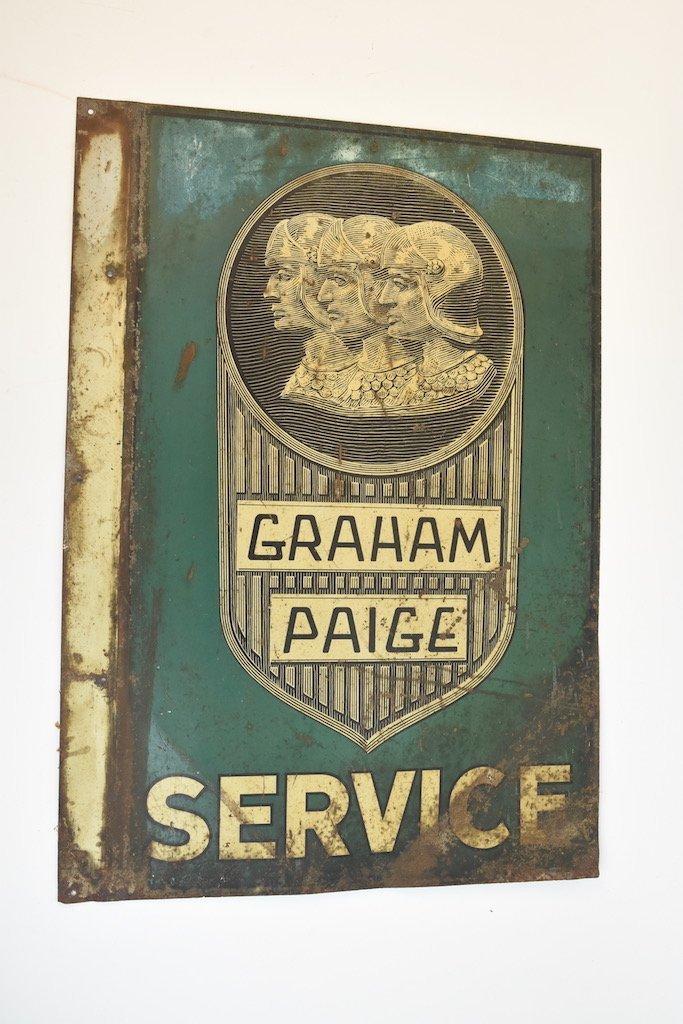 Graham Paige Flange Service Sign