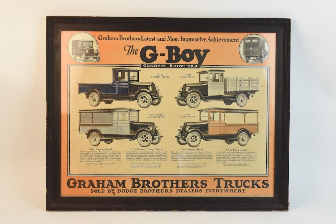 Graham Brothers G-Boy Poster