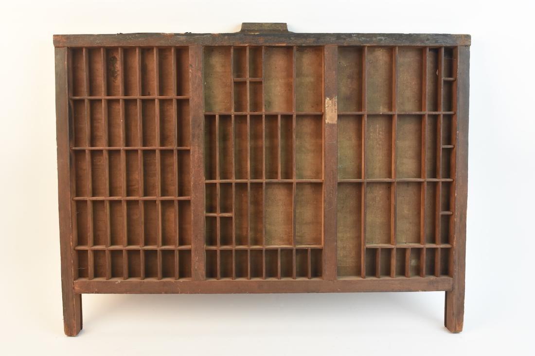 Hamilton Mfg. Co. Printer's Tray