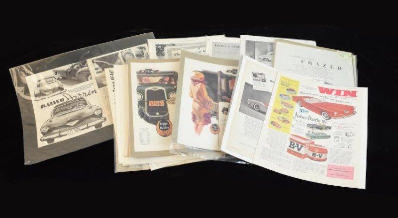 Graham, Jaguar, Frazer & Chevy Ephemera