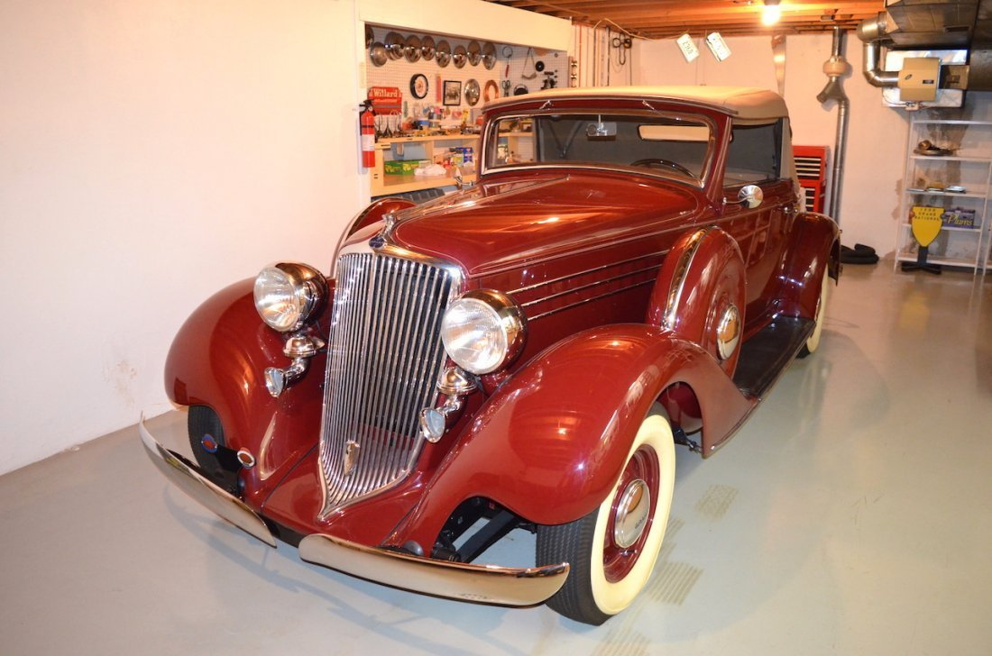 1934 GRAHAM CONVERTIBLE COUPE 8 CYLINDER MODEL 67