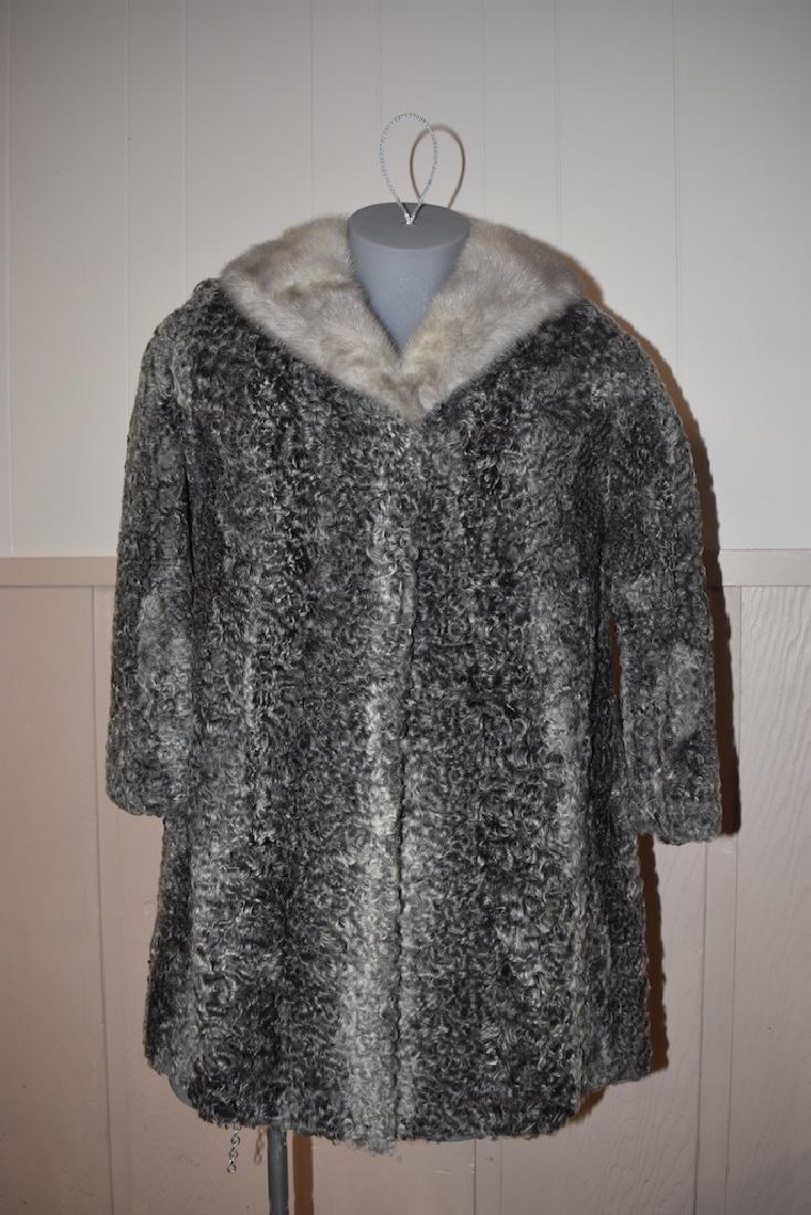 Vintage Persian Lambs Wool Coat by Marcus
