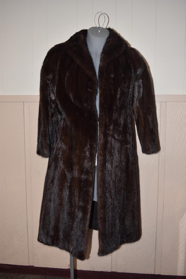 Women's Midi Mink Coat by Pappas Furs