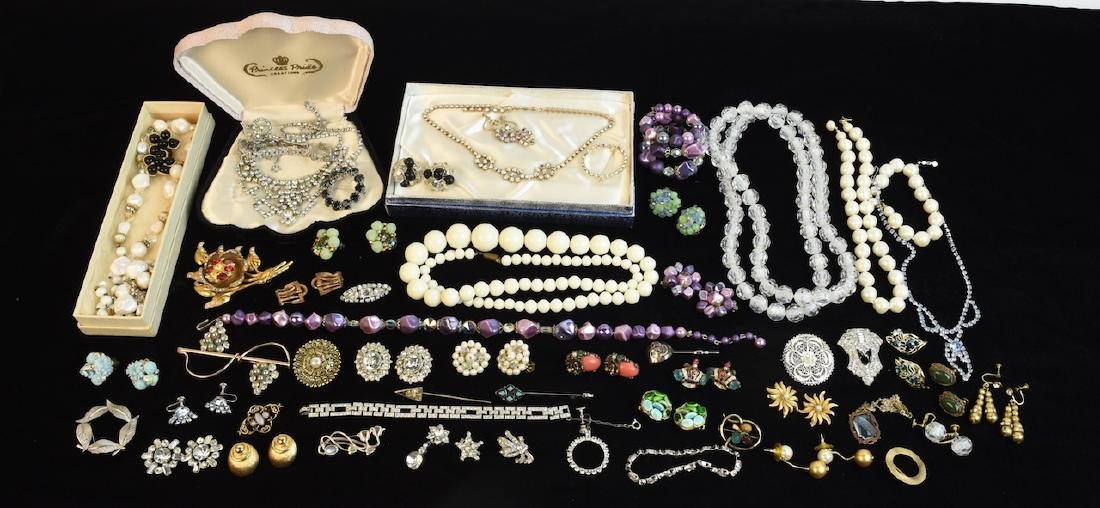 Vintage Costume Jewelry; WRF, Corocraft +