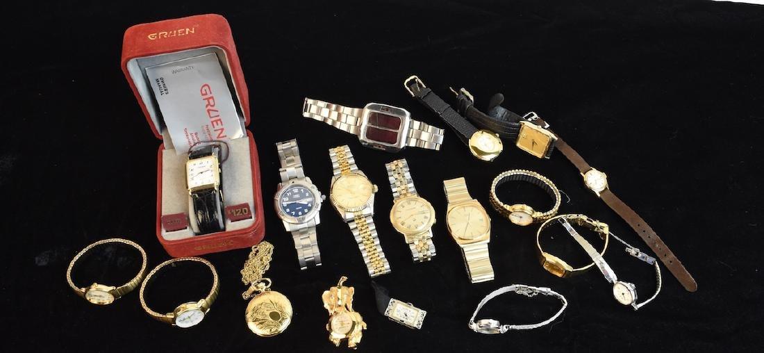 Men's & Women's Watches; Seiko, Timex +