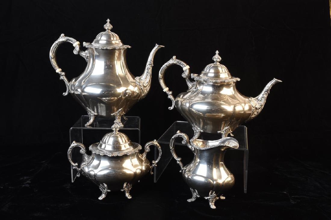 Reed & Barton Sterling Tea Set; 75.07 ozt