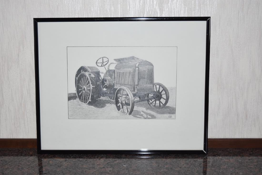 "Pencil by Evelyn Brown ""Old Timer""; SLR"