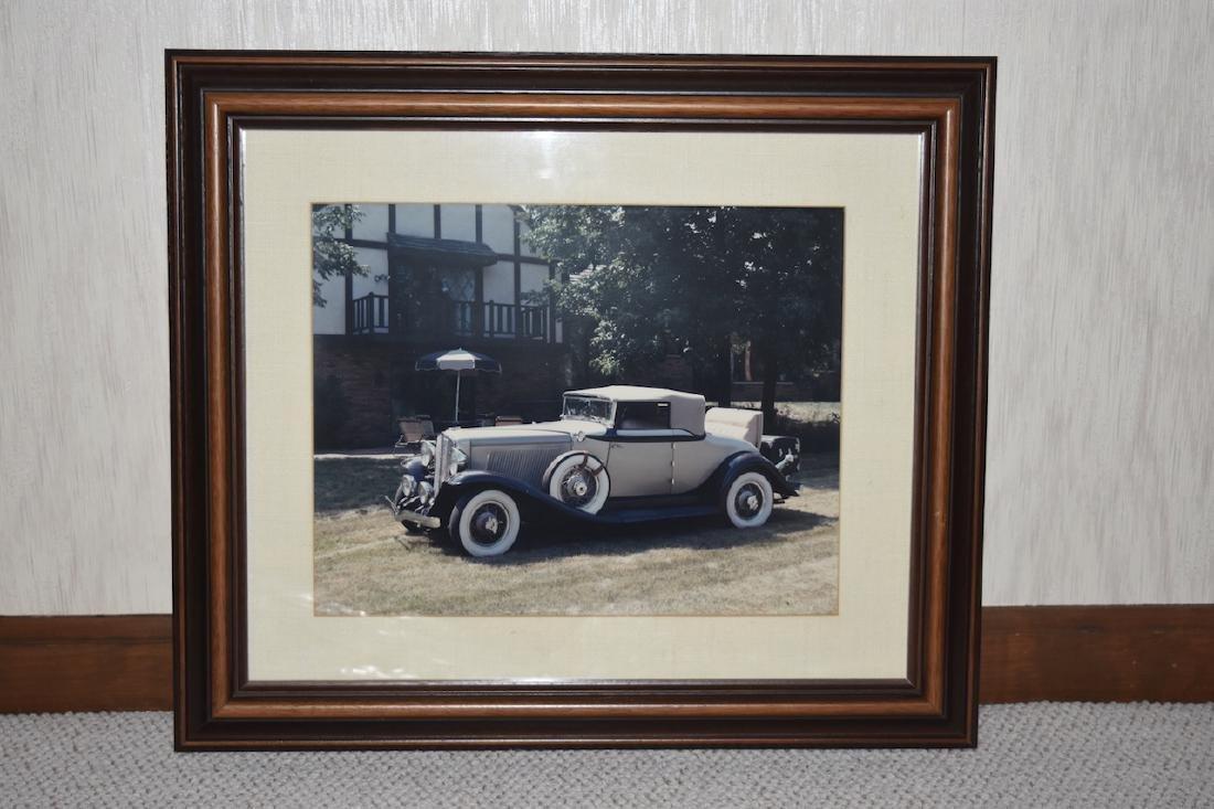 Early Auburn Convertible Framed Print