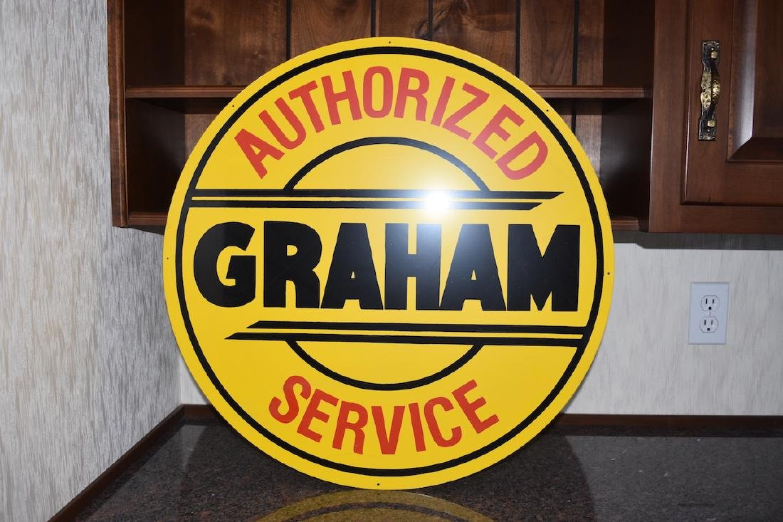 Authorized Graham Service Sign, 25 1/2""