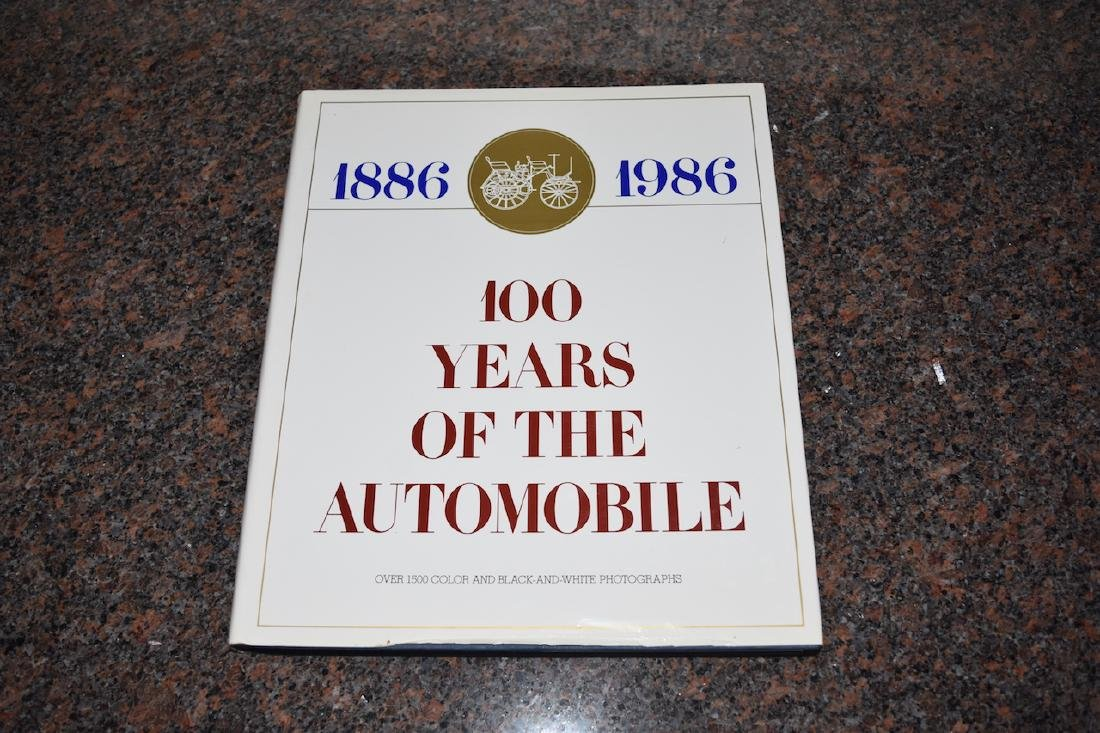 100 Years of The Automobile 1886-1986