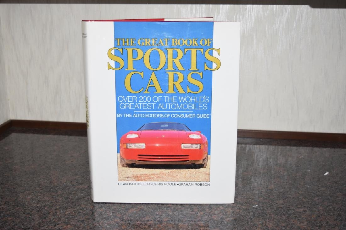 The Greatest Book of Sports Cars w/Dust Jacket