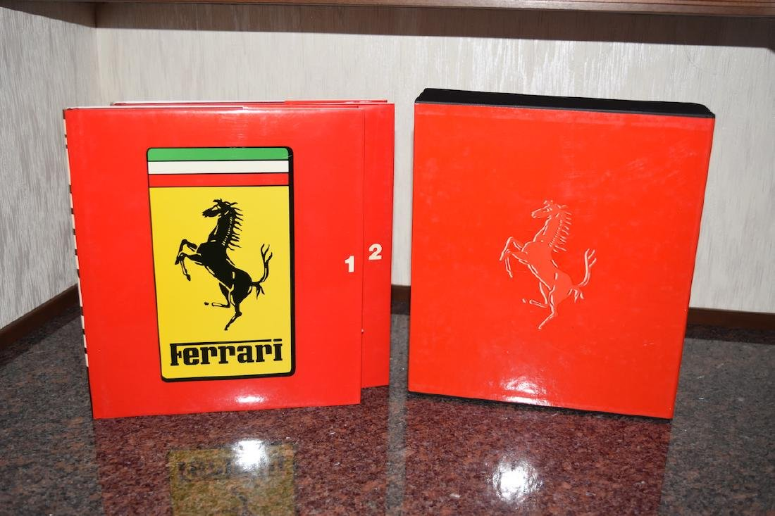 Ferrari Box Book Collection