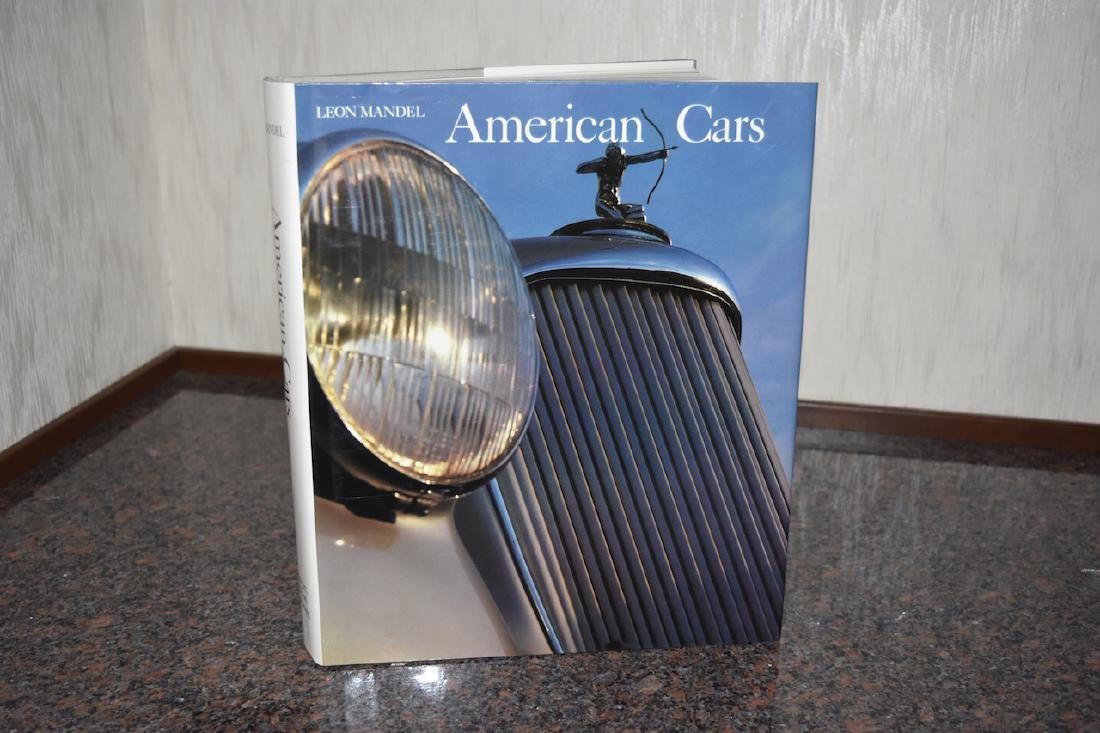 American Cars by Leon Mandel; book