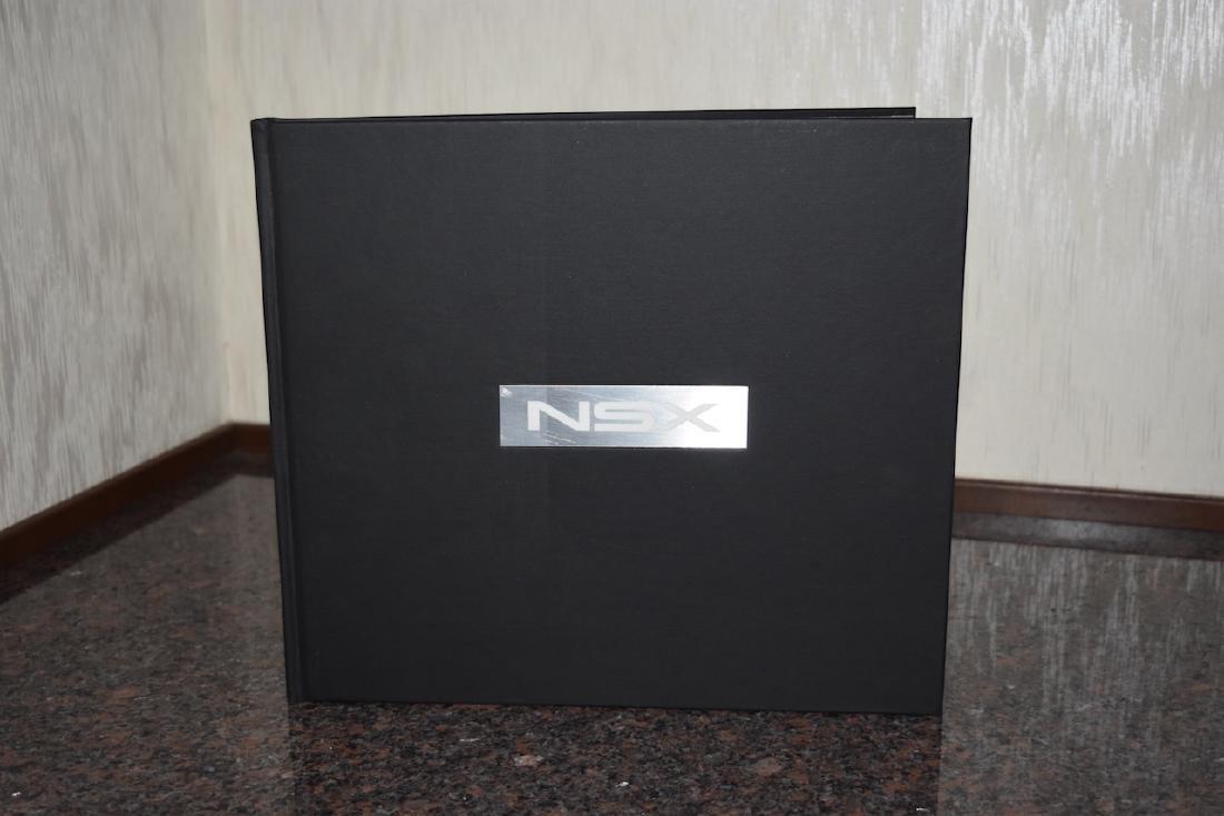 Acura NSX Hardback Book, 1990