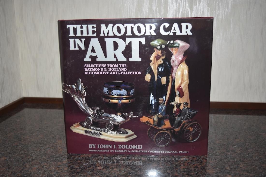 The Motor Car in Art Book by John Zolomij
