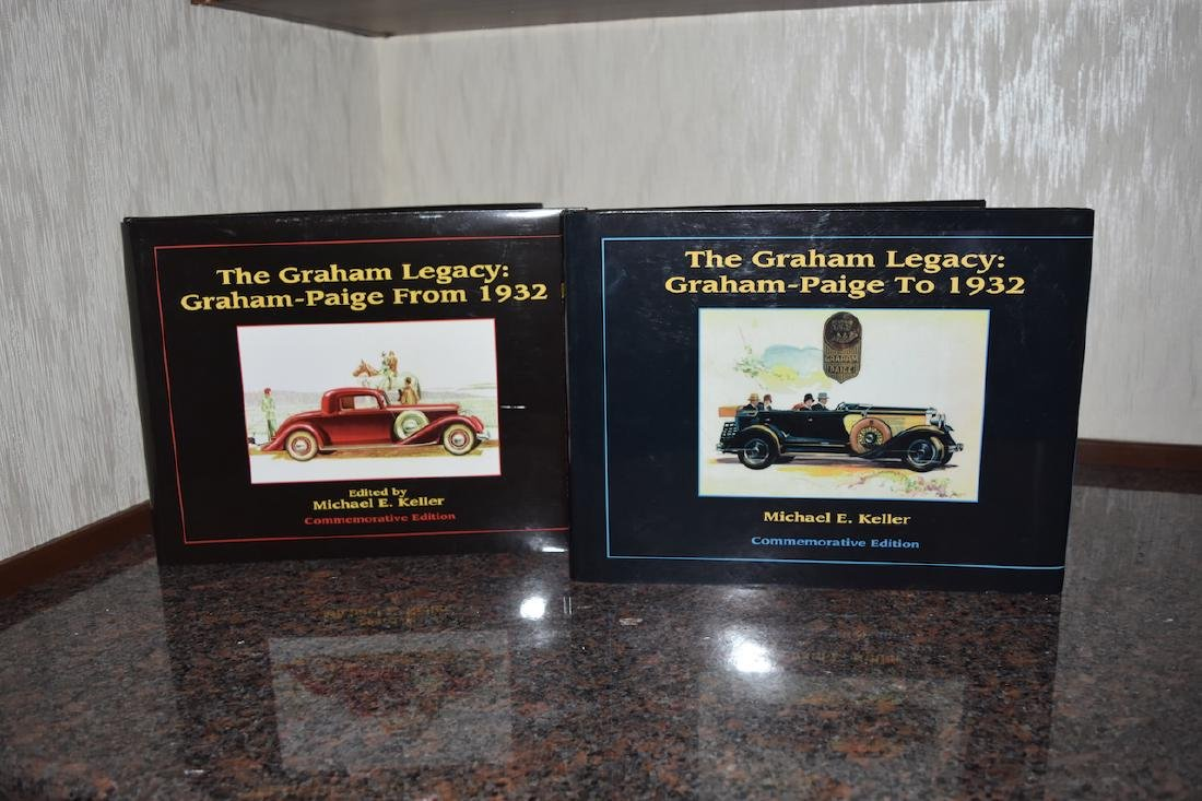 The Graham Legacy Graham-Paige T0 1932 & From 193