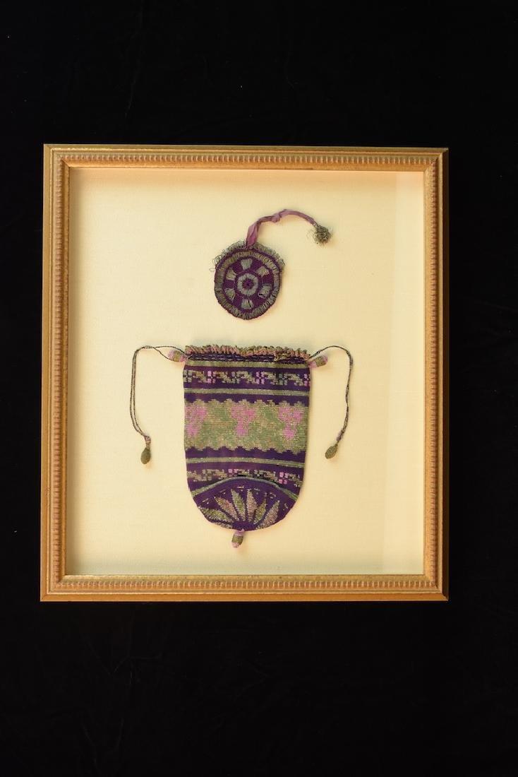 Indian Silk Hand Woven Coin Purses