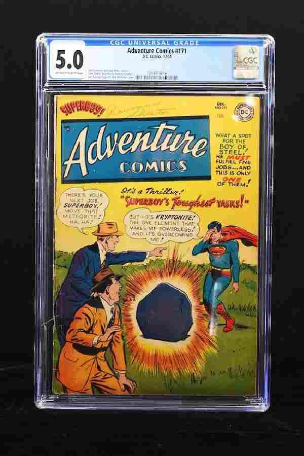 1951 Adventure Comics #171 CGC 5.0