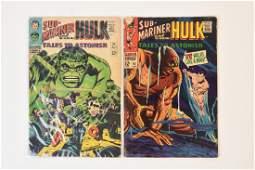 (2) Tales To Astonish 81 & 92 Marvel Comics