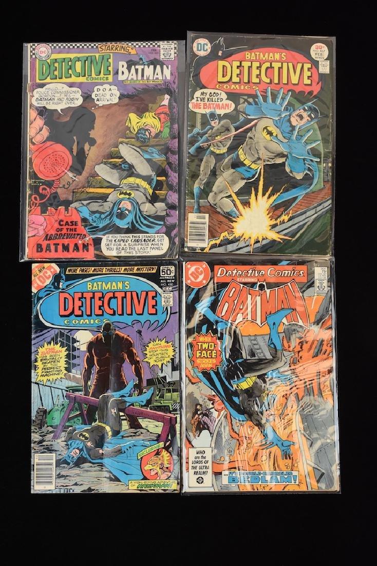 (4) Detective Comics, DC Comic Books