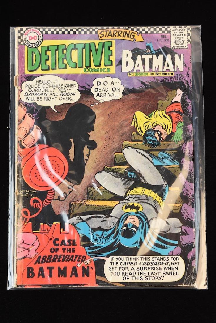 (4) Detective Comics, DC Comic Books - 2
