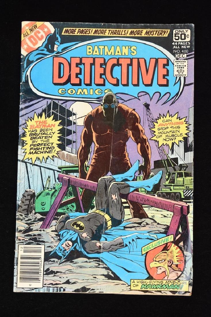 (4) Detective Comics, DC Comic Books - 4