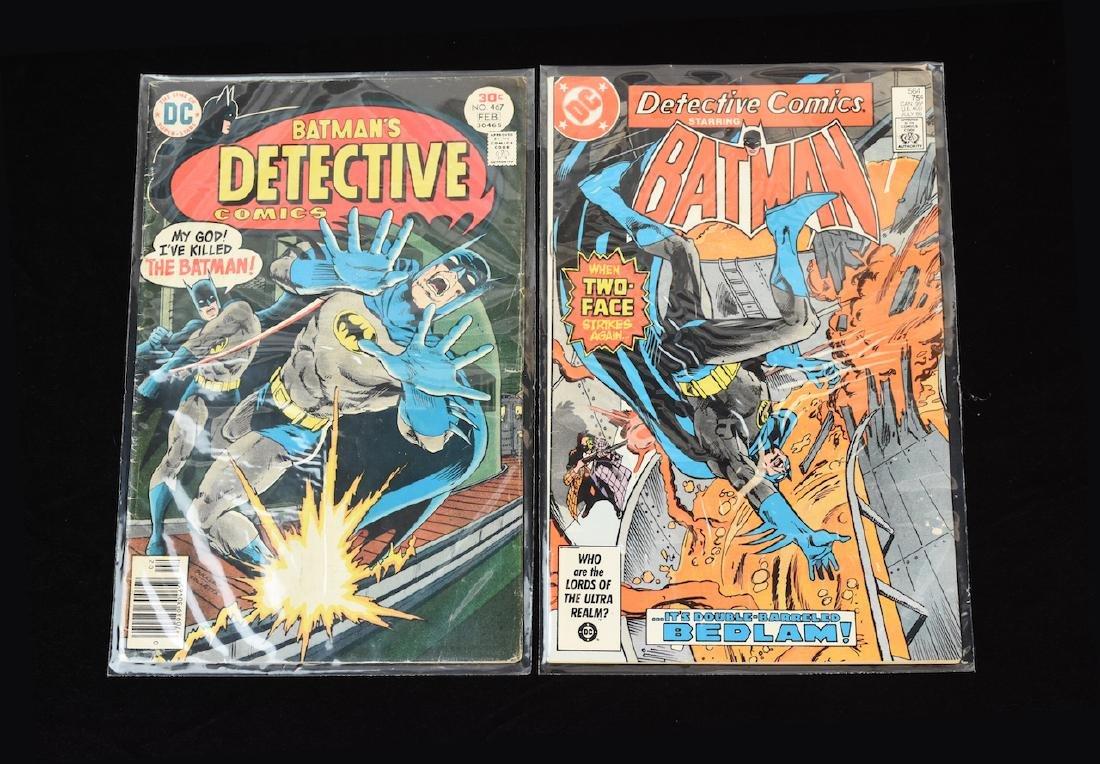 (4) Detective Comics, DC Comic Books - 6