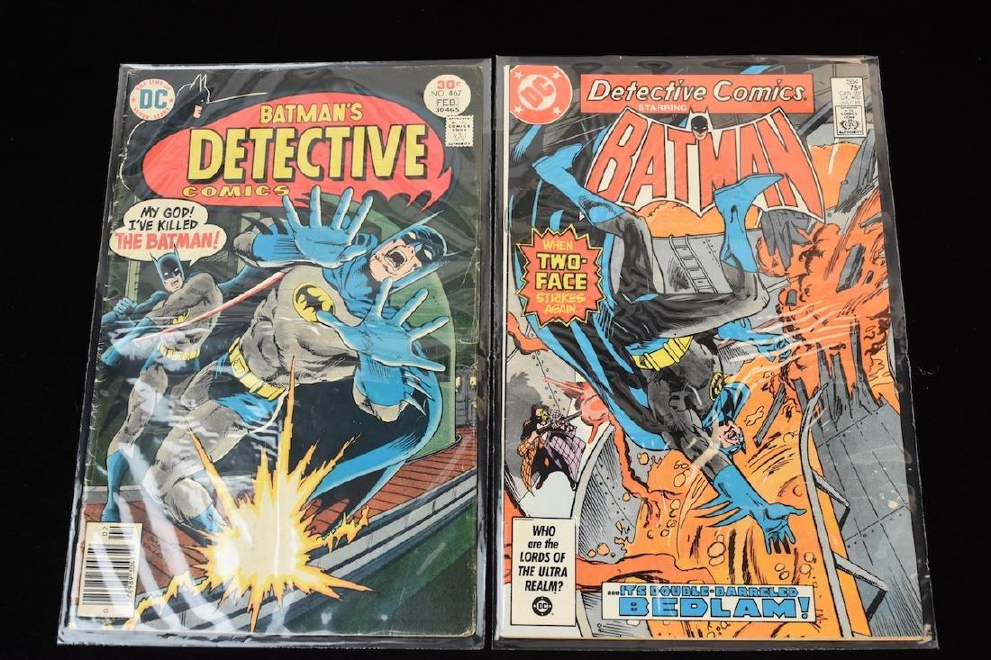 (4) Detective Comics, DC Comic Books - 7