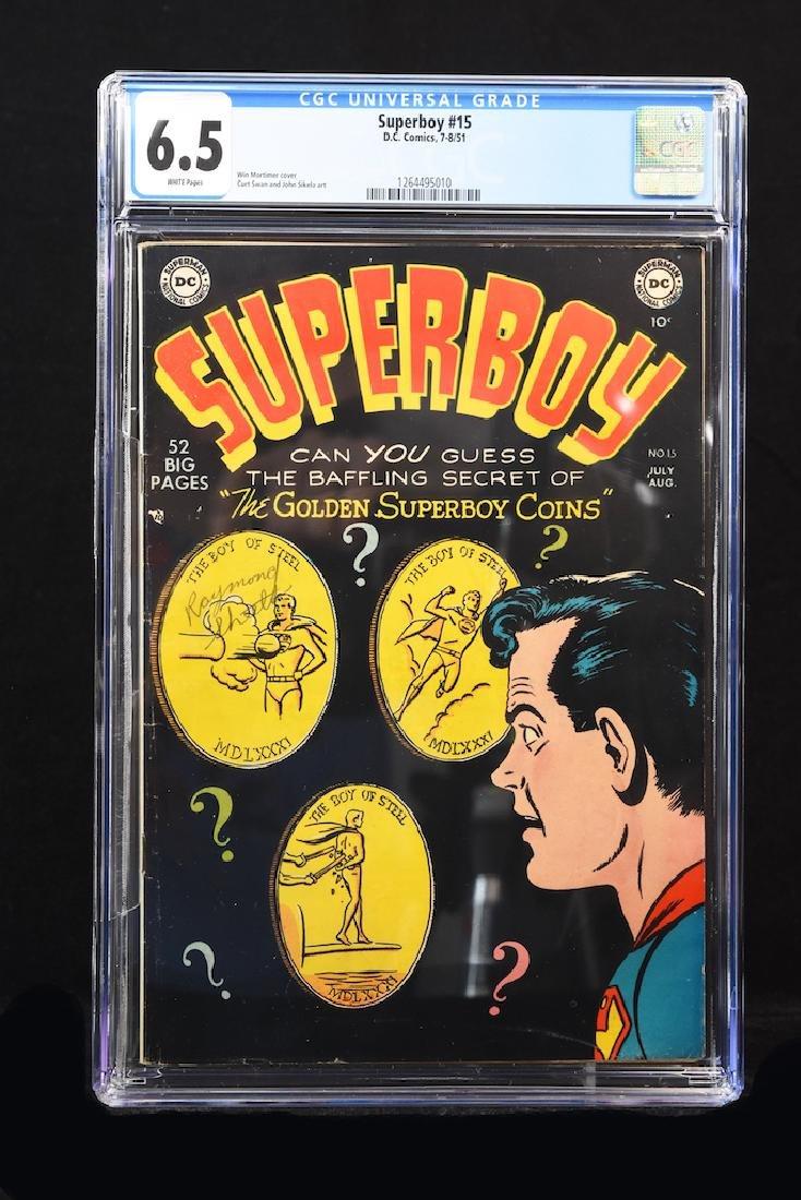 Superboy #15 (DC Comics, 1951) CGC 65