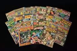 (31) Marvel Comic Books; Mixed Titles