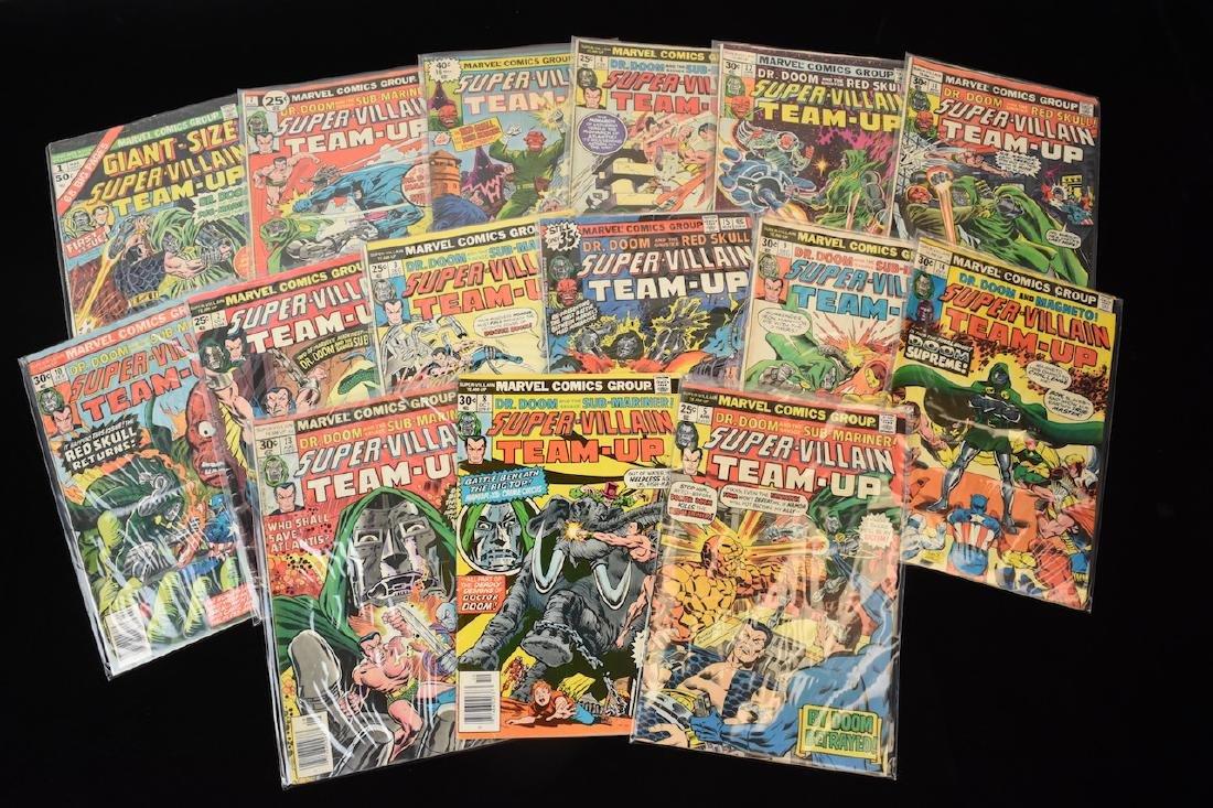 (15) Super-Villain Team-Up Marvel Comic Books