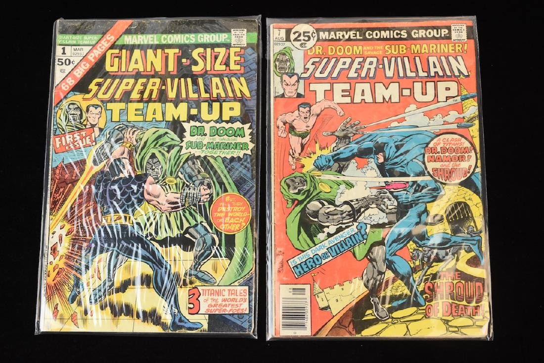 (15) Super-Villain Team-Up Marvel Comic Books - 2