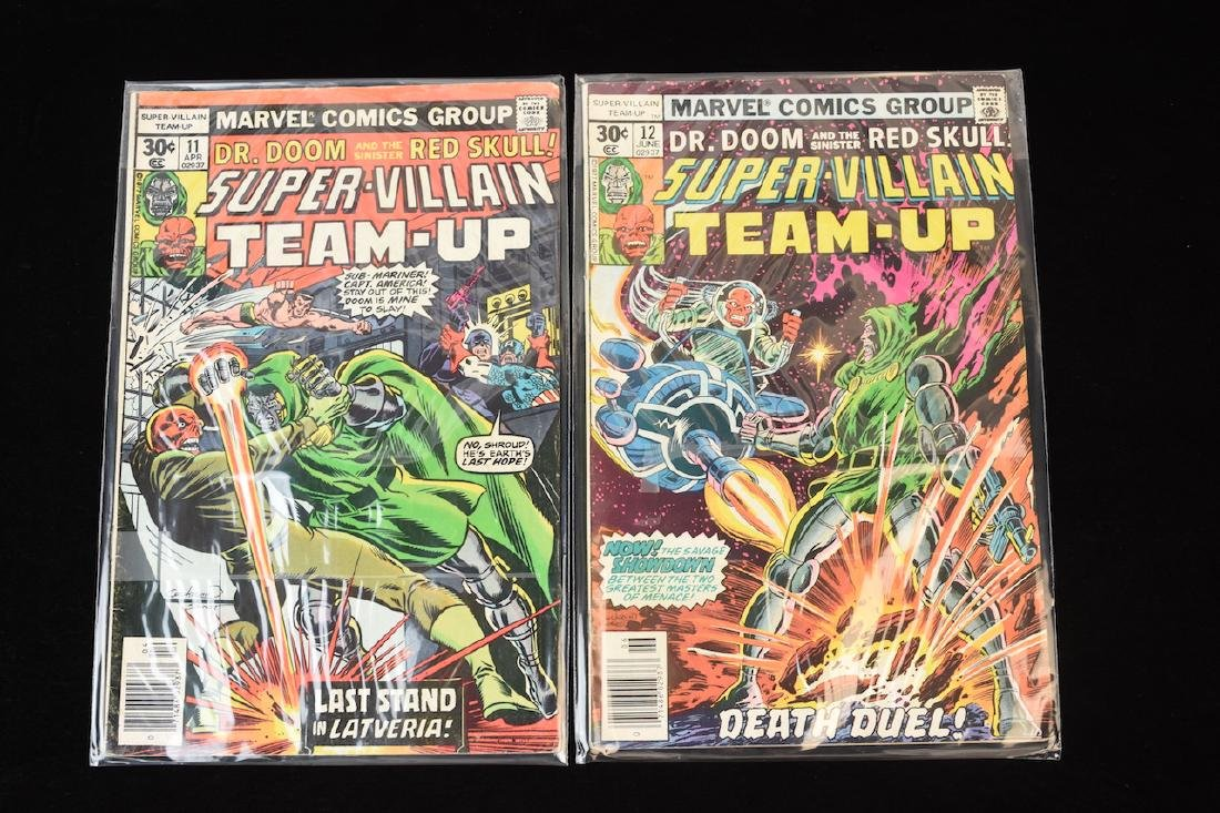 (15) Super-Villain Team-Up Marvel Comic Books - 3