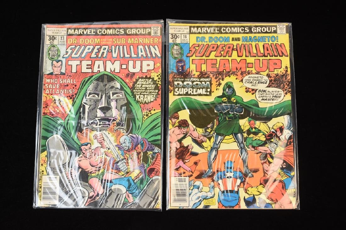 (15) Super-Villain Team-Up Marvel Comic Books - 6