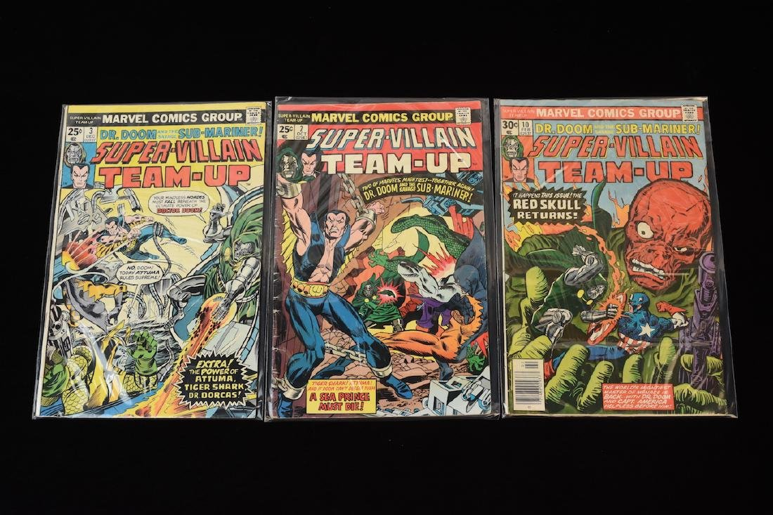 (15) Super-Villain Team-Up Marvel Comic Books - 8
