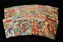 (10) Marvel Comic Books; Mixed Titles