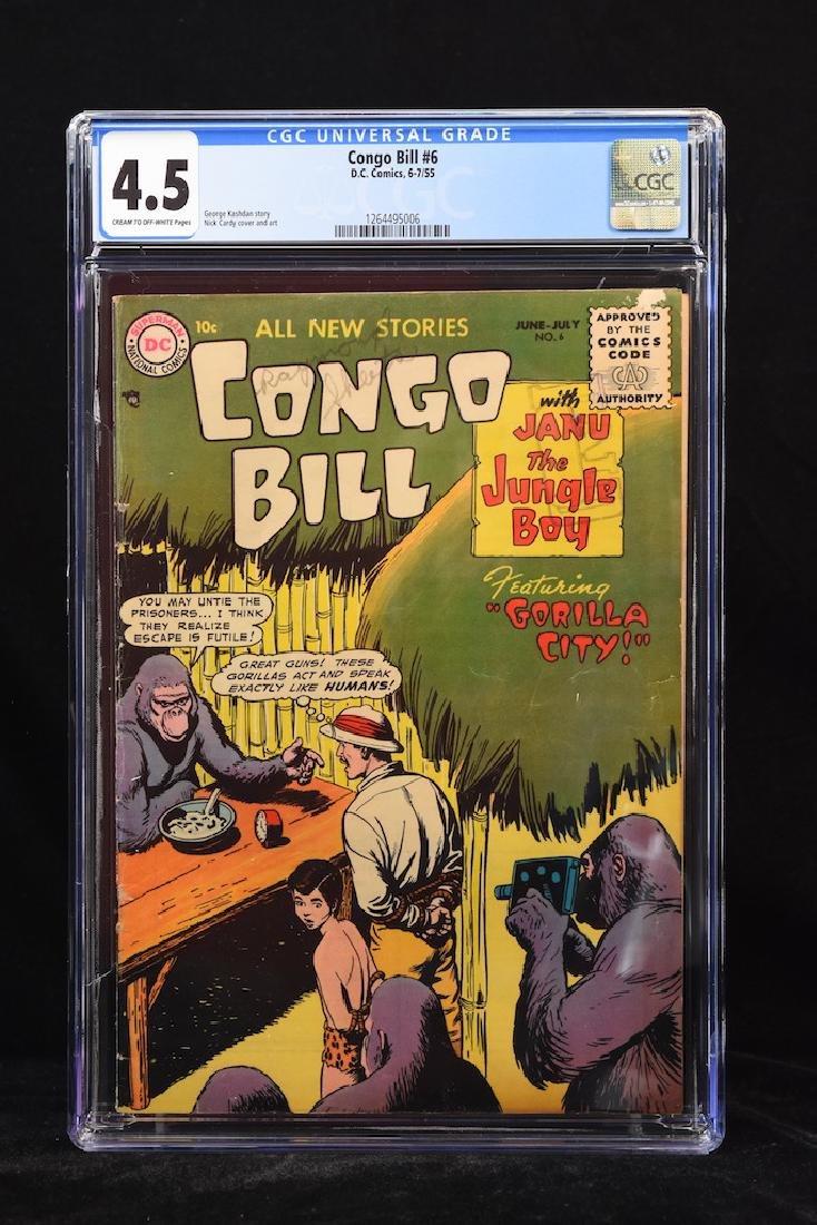 1955 Congo Bill #6 CGC 4.5