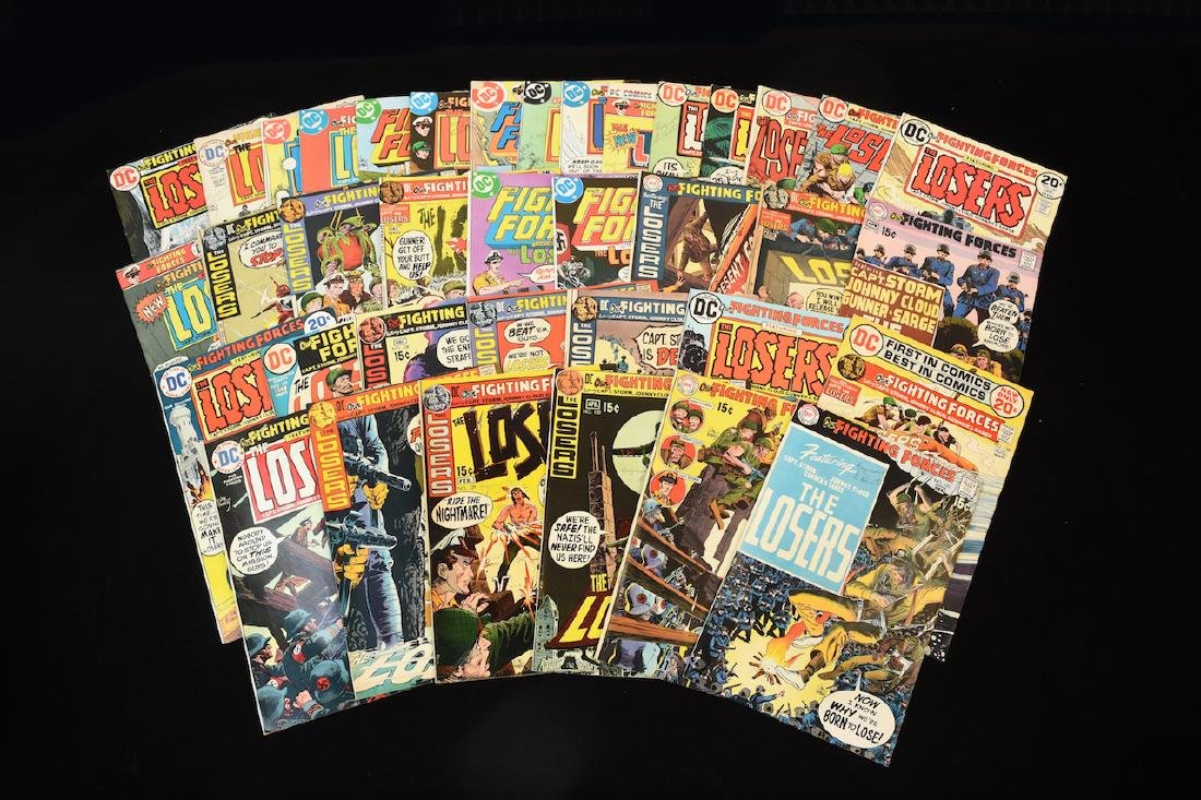 (37)DC Our Fighting Forces The Losers Comic