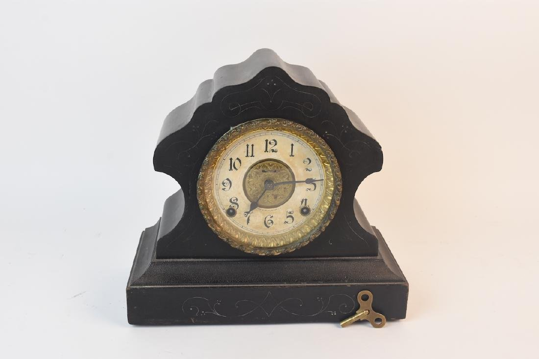 E. Ingraham 8 Day Mantel Clock