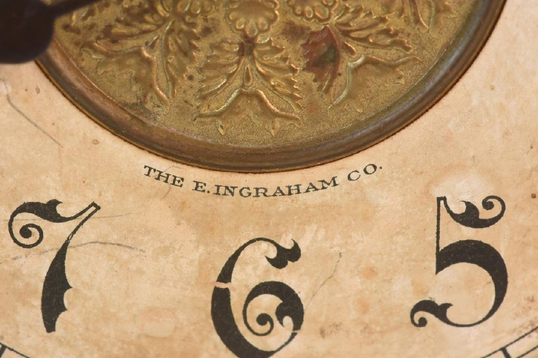 E. Ingraham 8 Day Mantel Clock - 3