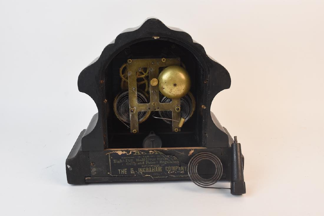 E. Ingraham 8 Day Mantel Clock - 7