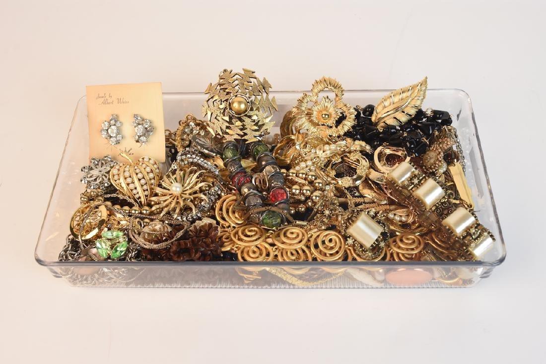 Costume Jewelry; Trifari, Coro, Monet, Napier +