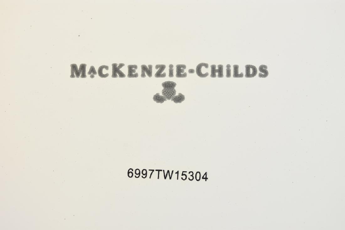 MacKenzie Childs Salad Bowls & Tongs - 5
