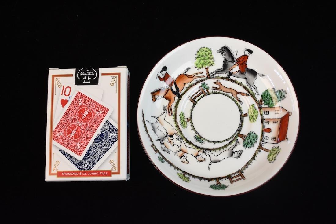 Staffordshire English Bone China Tea Set - 12