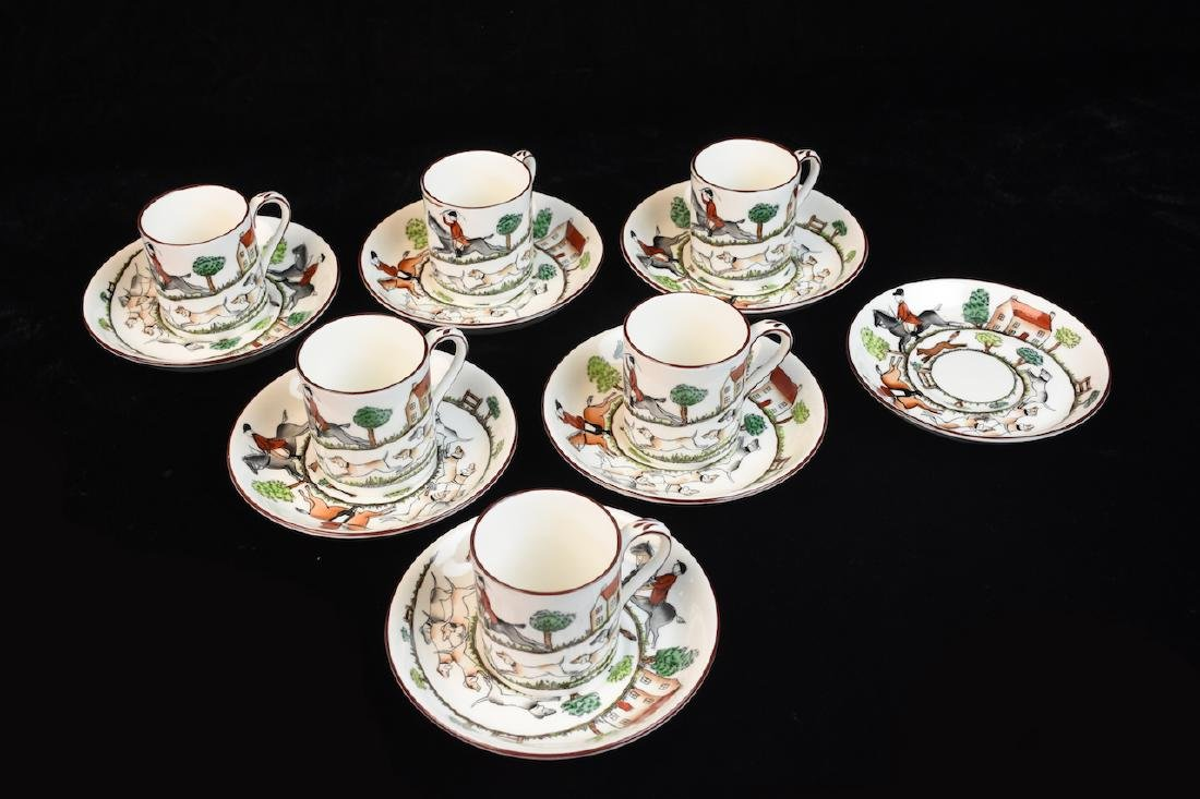 Staffordshire English Bone China Tea Set