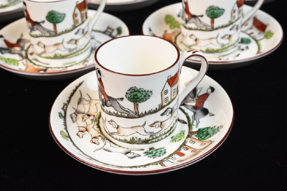 Staffordshire English Bone China Tea Set - 2