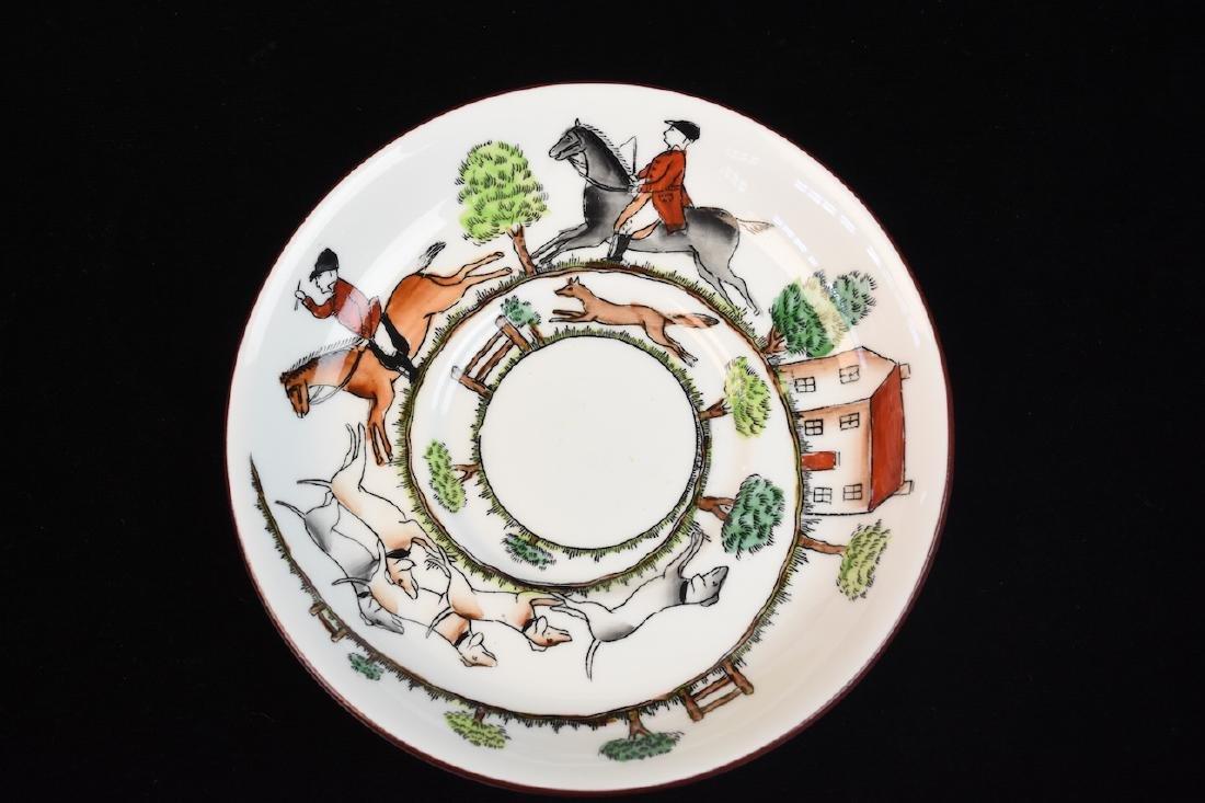 Staffordshire English Bone China Tea Set - 3